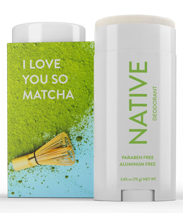 Native Deodorant Matcha